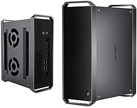 CHUWI Corebox Mini pc, Intel Core i5 Windows10 OS, Quad Core 64 bit 2.7GHz a 3.3GHz, 8GB RAM 256GB ROM, expandible a 1T HDD, HDPC 2.2, BT 4.0 y Dual WiFi