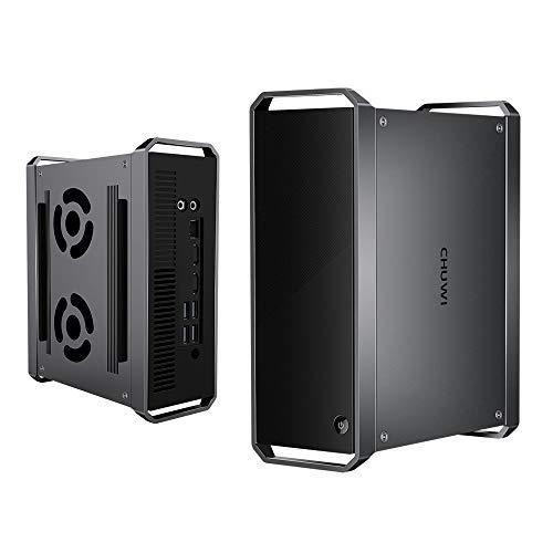 CHUWI CoreBox Mini PC Windows 10,Intel Core i5-5257U Mini Desktop pc, 8GB DDR3 256GB SSD,Expandable 2TB 2.5 Pollici HDD, 2.4GHz 5GHz Dual WiFi   4K Decodifica  BT4.2