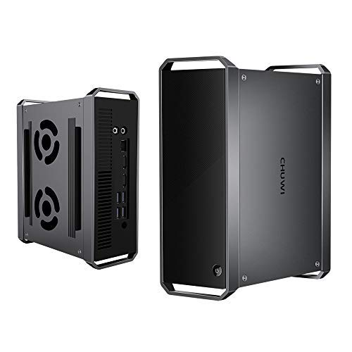 CHUWI CoreBox Mini PC Windows 10,Intel Core i5-5257U Mini Desktop pc, 8GB DDR3 256GB SSD,Expandable 2TB 2.5 Pollici HDD, 2.4GHz/5GHz Dual WiFi / 4K Decodifica /BT4.2