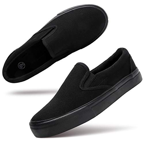 Women's Canvas Slip On Shoes Fashion Sneakers Flats Shoes White Canvas...