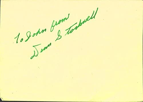 Dean Stockwell - Cash special price Inscribed 1947 Circa All items free shipping Signature