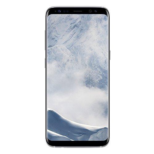 Samsung Galaxy S8 Smartphone, Arctic Silver, 64GB espandibili [Versione Italiana]