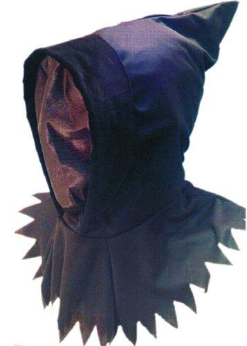 Struts Fancy Dress Détraqueur Style Gothique Goule Noire Capuche