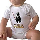 GAMBA TARONJA YO Soy TU Padre - Body - BEBÉ - Star Wars - Darth Vader