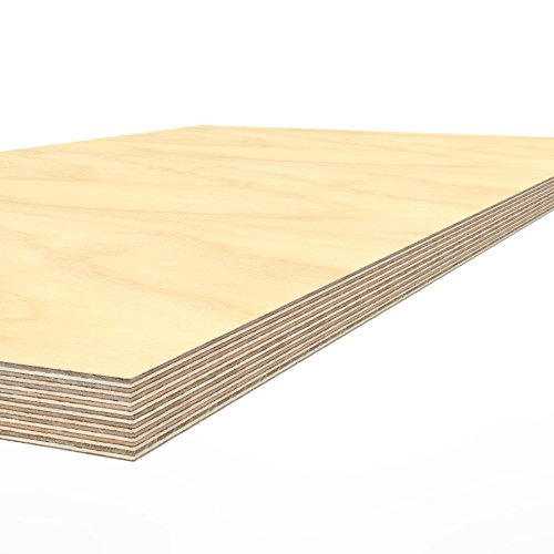 Profi Multiplexplatte 1250 x 700 x 40 mm Werkbankplatte Arbeitsplatte (von 125cm - 200cm lieferbar Variante wählen) - 4