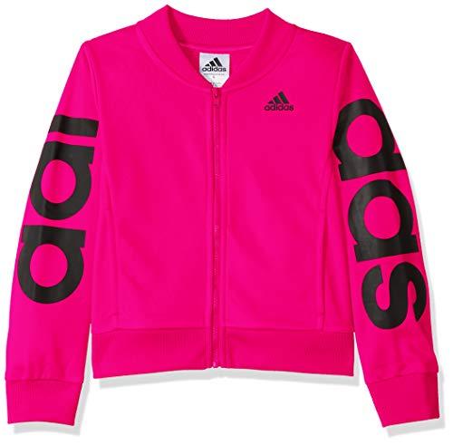 adidas Girls' Big Bomber Jacket, Magenta ap XL (14/16)