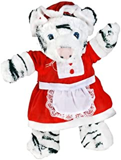 Mrs. Claus Outfit Teddy Bear Clothes Outfit Fits Most 14