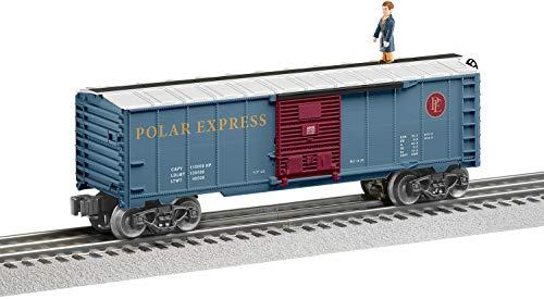 Lionel The Polar Express, Electric O Gauge Model Train Cars, Hero Boy Walking Brakeman