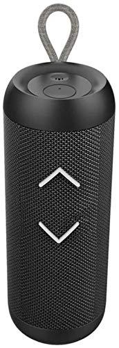 Porte-bébé HZYD Haut-Parleur Portable, Mini-Colonne Haut-Parleur Bluetooth Lourd Basse extérieur Tissu Net 3D Stereo Pique-Nique Lecteur de Musique Salle étanche Caisson de Graves