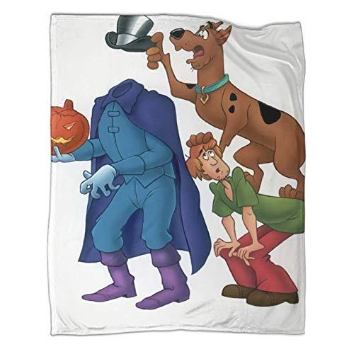 Xaviera Doherty Scooby DooJoy Limited Sofadecke, 130 x 180 cm, weiche und bequeme Bettdecke, Kinderbettwäsche