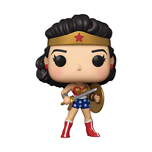 Funko 54973 POP Heroes:WW80th-ClassicWWw/ShieldandSword(1950's)