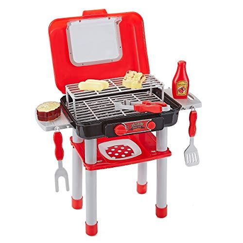 Think Gizmos Giochi di Imitazione per Bambini - Set di Giochi per Ragazzi e Ragazze (Set Barbecue)