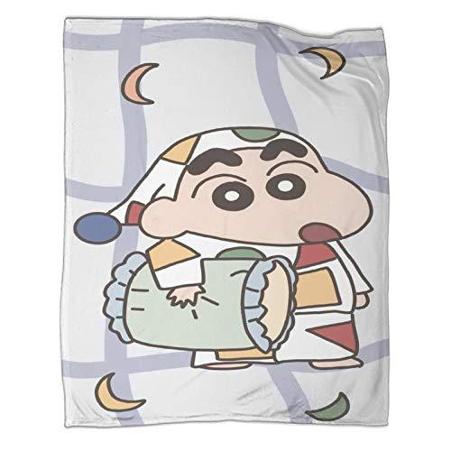 STTYE Adecuado para sofá, silla, sofá y cama, Crayon Shin-Chan, gran regalo para entusiastas del anime, 150 x 200 cm