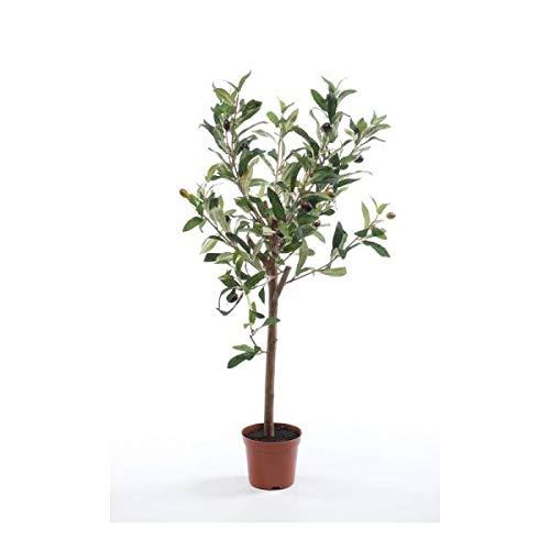 Emerald künstlicher Olivenbaum Mini H. 65cm grün