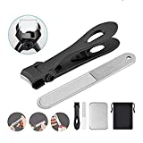 Toe Nail Clippers for Thick Nails Heavy Duty Trimming for Men Seniors Adults