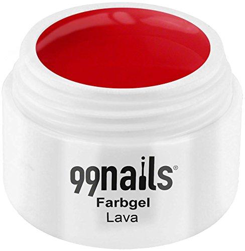 99 Nails® Farbgel – Lava, 1er Pack (1 x 5 ml)