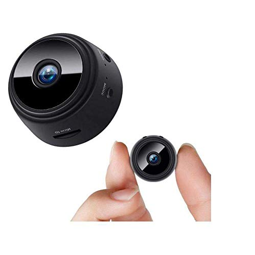 FREDI HD PLUS Mini Spy WiFi Hidden Camera Wireless HD 1080P Indoor Home Small Spy Cam Security Cameras/Nanny Cam Built-in Battery with Motion Detection/Night Vision for iPhone/Android Phone/iPad/PC
