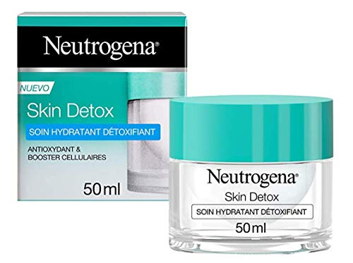 Neutrogena Crème Hydratante Visage, Skin Detox, Soin Visage, 1 Pot de 50ml
