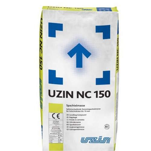 UZIN NC 150 Selbstverlaufende Zement Ausgleichsmasse 25kg