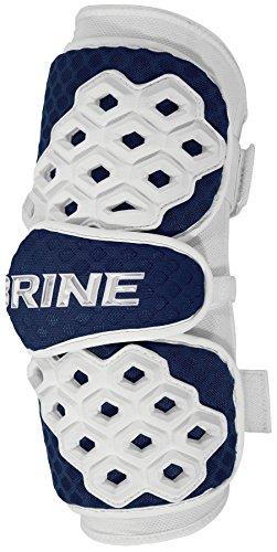 Brine Triumph II Lacrosse Arm Guard, Black, Large