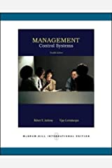 Management Control Systems Paperback