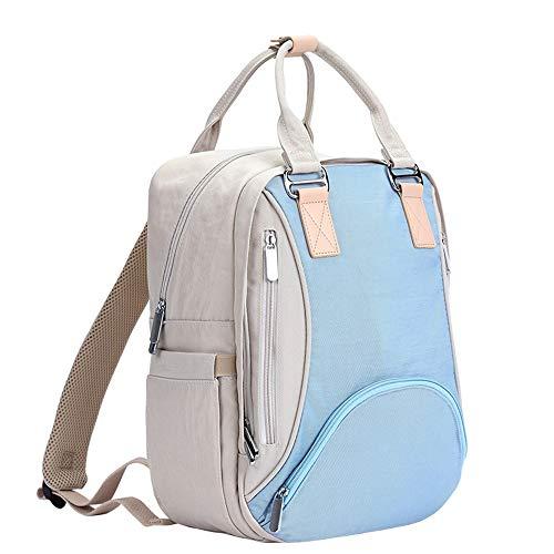 Multifunctionele reistas voor luiers, met tas, meerlaags, voor baby's, luiertas met grote inhoud, voor reizen, robuust