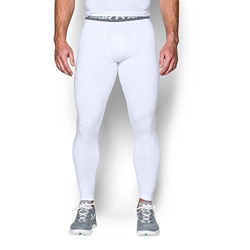 Under Armour Herren Ua Hg Armour Graphic Leggings Fitness - Hosen & Shorts, White, XL