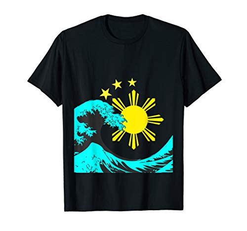 Great wave of the Philippines - Filipino Heritage T Shirt