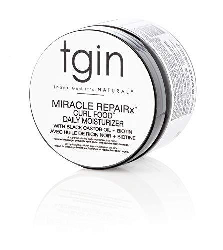 tgin Miracle RepaiRx Curl Food Daily Moisturizer For Damaged Hair - Repair - Protect - Restore - 12 Oz