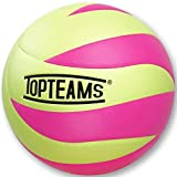 TOPteams Palla da Beach Volley, Pallavolo Beach Soft Touch Volleyball, Misura 5 (Rosa)