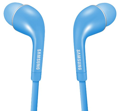 Samsung In-Ear Kopfhörer Premium Stereo-Headset mit Integrierter Fernbedienung und Mikrofon, blau