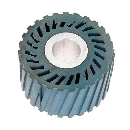 86 * 50mm Rillenkautschuk-Kontaktscheibe für Bandschleifer Schleifer Schleifscheibe Schleifriemen, 86x50x25mm gerillt