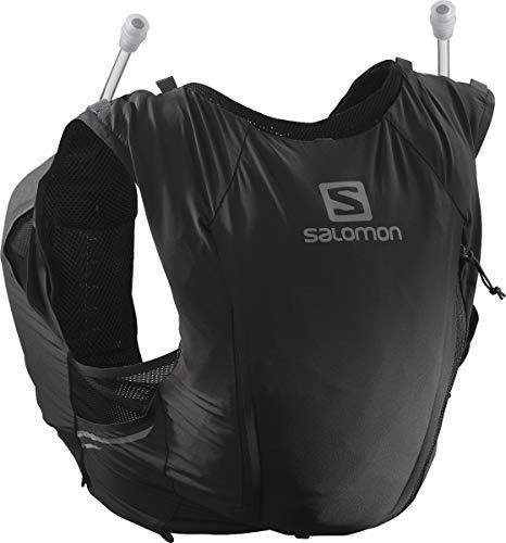 Salomon Womens Sense Pro 10 Set Running Hydration Vest, Black/Ebony, Small