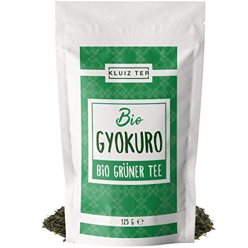 Grüner Tee - Bio Gyokuro - First Flush I 125 Tassen Grüntee I 125 Gramm Grüner Tee Bio I Organic Green Tea by KLUIZ