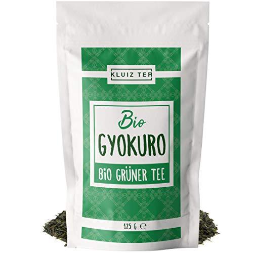 Grüner Tee - Bio Gyokuro - First Flush I 125 Tassen Grüntee I 125 Gramm Grüner Tee Bio I Organic Green Tea by KLUIZ TEA