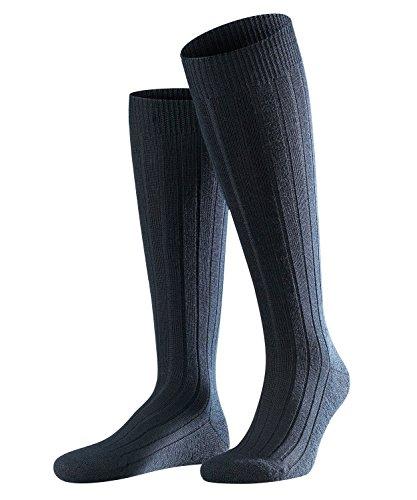 FALKE Herren Teppich im Schuh M KH Socken, Blickdicht, Blau (Dark Navy 6370), 43-44 (UK 8.5-9.5 Ι US 9.5-10.5)