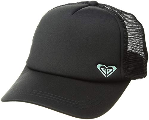 Roxy Women's Finishline Trucker Hat, True Black/Yucca, 1SZ