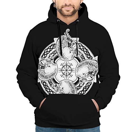 ANVPI 3D print heren dames hoodie lange mouwen licht comfortabele trui trui met capuchon S-5XL