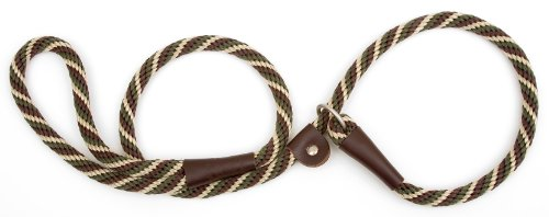 Mendota Pet Slip Lead, 1/2' X 6', Woodlands, Dogs