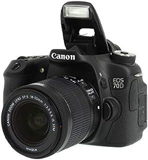 ●【Canon】キヤノン『EOS●70D●EF-S18-55●IS●STMレンズキット』EF-S●2020万画素●フルHD●デジタル一眼レフカメラ●1週間保証 303
