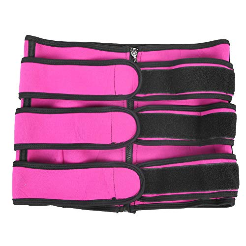 Waist Trimmer, Waist Trainer Belt, Weight Loss Sport Shaper, Slimming Body Shaper Band, with 8 Optional Sizes/Zipper Loop Tape Adjustable Hook, for Women Men (4XL)