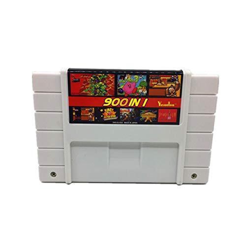 GAOHEREN Super DIY Retro 900 en 1 Pro Cartucho de Juego Fit para la Tarjeta de Consola de Juegos de 16 bits Versión de China GHR (Color : USA)