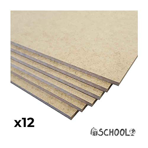 PACK 6 TABLAS MARQUETERIA GRANDES 82 X 54CM 3MM