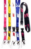 Lanyard 5pack Beautiful Design Keychains Keys ID Holder Cell Phones Bags Accessories Office Card Holder Safety Polyester Neck Strap (Nike)