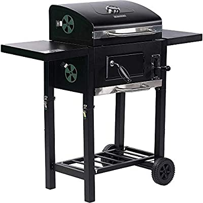 KAPAS Foldable and Portable Charcoal BBQ Grill for Outdoor Picnic, Camping, Patio Backyard Cooking