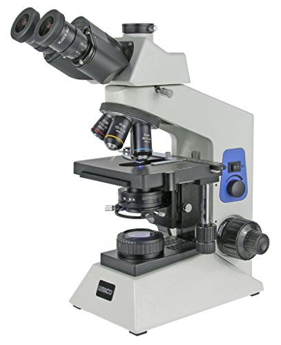 Unico G504T Trinocular Microscope With Seidentpf Trinocular Head, Paired 10X Eyepiece, Set Of Plan Objectives 4X-10X-40X-100X, Mech. Stage, Kohler Illumination (Led) With Intensity Adjustment, Power Input 90V-240V G504T