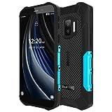 OUKITEL WP12 Pro Android 11 Móvil Resistente, (Peso Ligero), Quad Core 4GB+64GB, Batería 4000mAh, Pantalla HD+ 5.5', Cámara Triple (Submarina) 13MP,IP68 IP69K Teléfono Impermeable Dual SIM NFC Azul