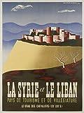 Syrie Liban Poster-Format 50 x 70 cm, Papier 300