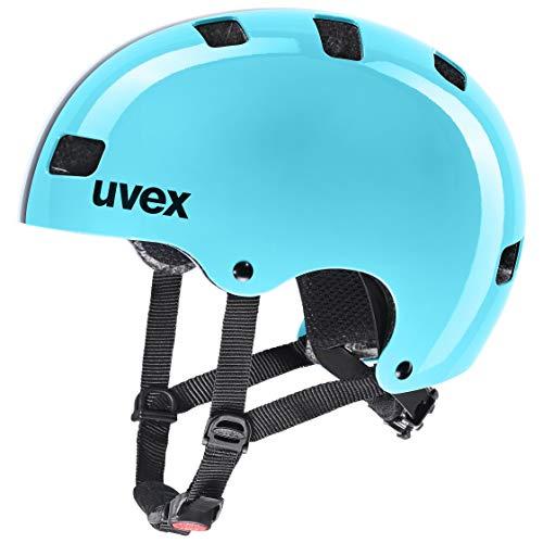 uvex Unisex Jugend Kid 3 Fahrradhelm, Race Sky, 55-58 cm
