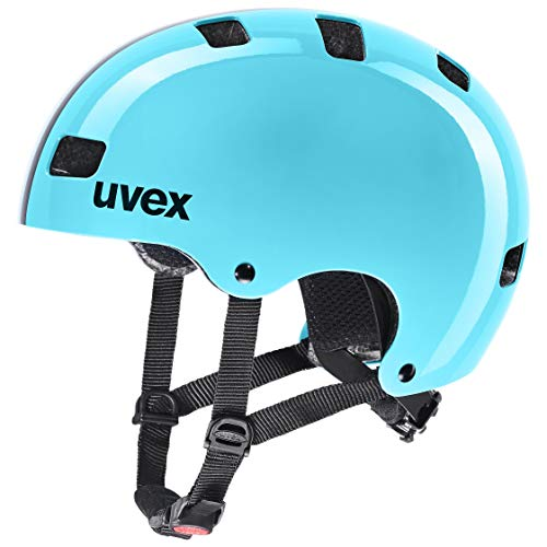 uvex Kid 3, Casco Bicicletta Unisex-Youth, Race Sky, 55-58 cm
